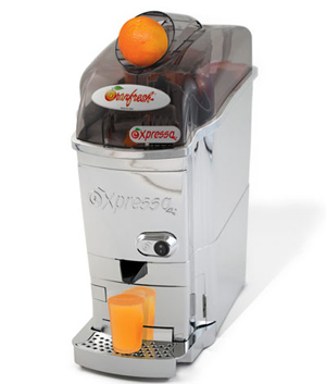 Centrifugeuse presse orange expressa deluxe for Presse orange professionnel